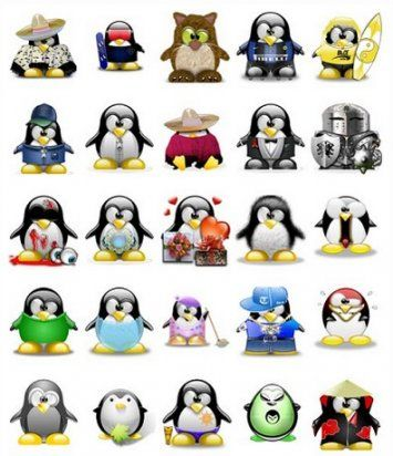1000 Penguin Avatars