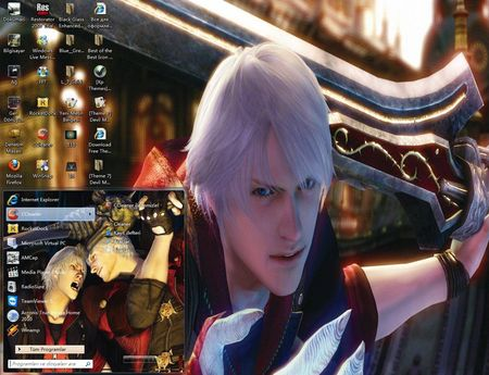 Windows 7 Themes - Devil May Cry