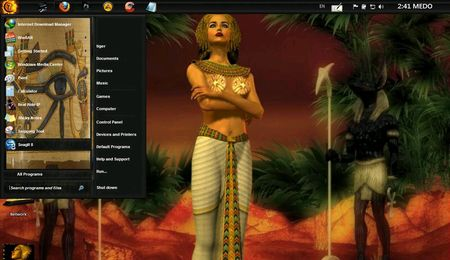 Windows 7 Themes: Egypt Pharaohs