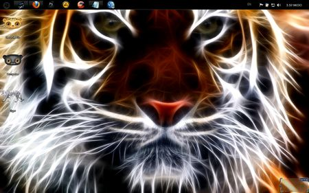 Windows 7 Themes: Tiger 7