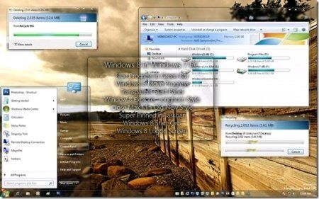 Win8 Style - Theme for Windows 7