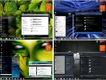 6 Themes for Windows 7