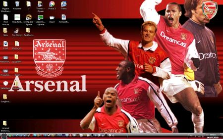 Arsenal Theme for Windows