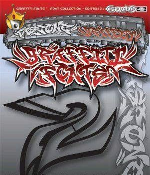 Graffiti Fonts - Full Collection
