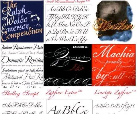 Wedding Font Collection